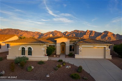 Oro Valley Single Family Home Active Contingent: 12674 N Rock Creek Road