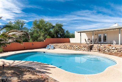Tucson Single Family Home Active Contingent: 2801 W Puccini Place