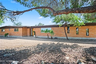 Tucson Single Family Home Active Contingent: 7930 E Mabel Drive