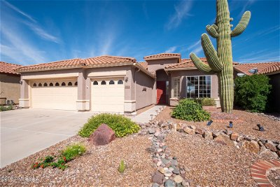 Tucson Single Family Home Active Contingent: 8044 W Greensleeves Way