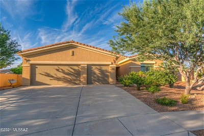 Oro Valley Single Family Home Active Contingent: 1598 W Copper Sky Drive