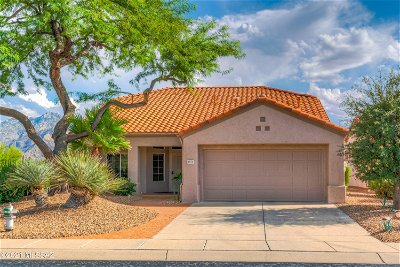 Oro Valley Single Family Home Active Contingent: 1912 E Engle Hill Place