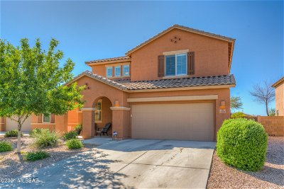 Oro Valley Single Family Home Active Contingent: 1079 W Garden Grove Drive