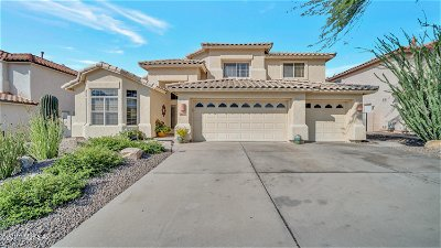 Oro Valley Single Family Home Active Contingent: 12405 N Mount Bigelow Road