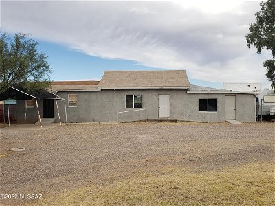 Tucson Single Family Home For Sale: 16200 W Ajo Hy Highway