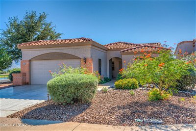 Oro Valley Single Family Home Active Contingent: 14271 N Rusty Gate Trail