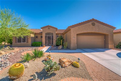 Oro Valley Single Family Home Active Contingent: 14048 N Biltmore Drive