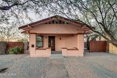 Tucson Single Family Home For Sale: 511 E Speedway Boulevard