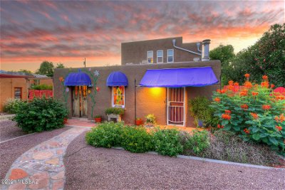 Tucson Single Family Home For Sale: 1708 N Forgeus Avenue