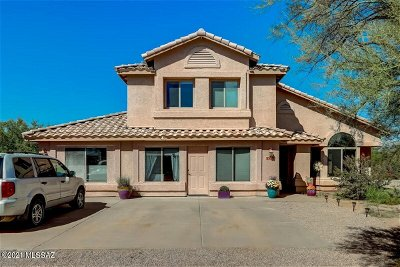 Tucson Single Family Home For Sale: 11551 E Speedway Boulevard