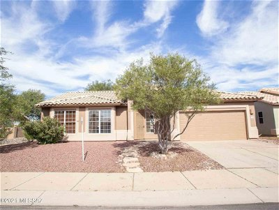 Tucson Single Family Home For Sale: 7160 W Yarbough Drive