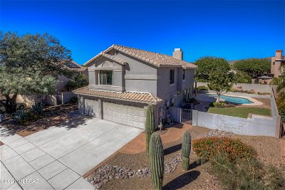 Oro Valley Single Family Home Active Contingent: 12659 N Granville Canyon Way