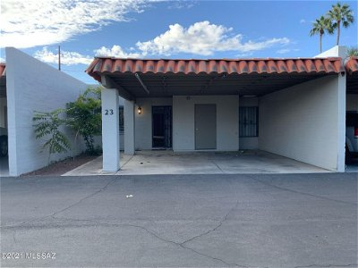 Tucson Townhouse For Sale: 2525 E Prince Road #23