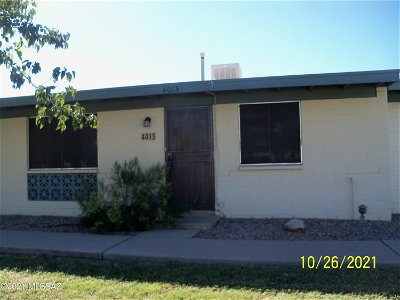 Tucson Townhouse For Sale: 4015 S Grand Palm Drive