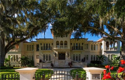 Tampa Single Family Home For Sale: 415 S ROYAL PALM WAY