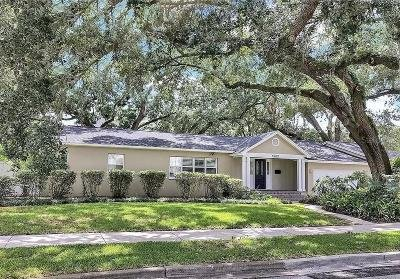 Hillsborough County, Pasco County, Pinellas County Single Family Home For Sale: 4602 W LOWELL AVENUE