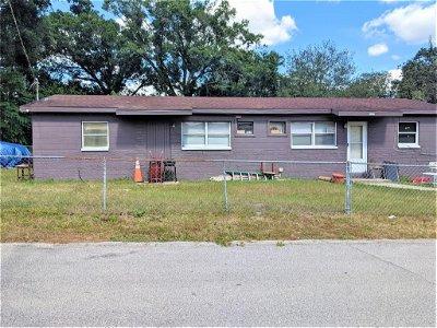 Hillsborough County Single Family Home For Sale: 8500 N 17TH STREET