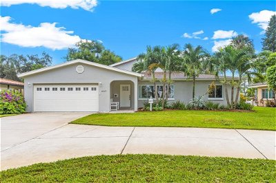 Hillsborough County, Pasco County, Pinellas County Single Family Home For Sale: 4937 SHORE ACRES BOULEVARD NE