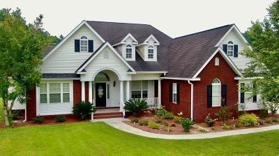 Blackshear Single Family Home For Sale: 1320 Whitney Lake Rd