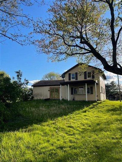 Hanover MI Single Family Home For Sale: $40,000