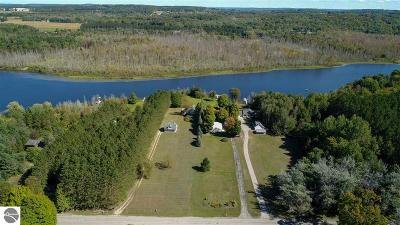 Charlevoix County Single Family Home For Sale: 04390 Six Mile Lake Road