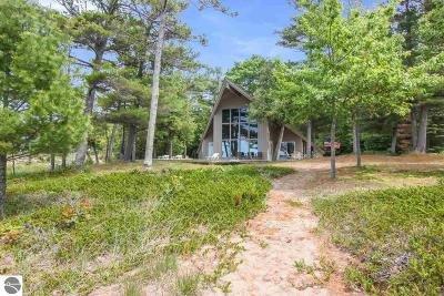 Kewadin Single Family Home For Sale: 3644 Joe Marks Trail