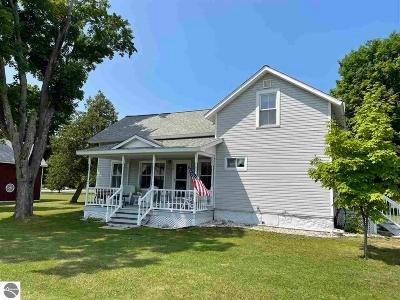 Kewadin Single Family Home For Sale: 12364 3rd Street