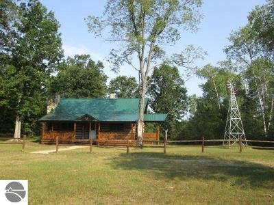 Traverse City Single Family Home For Sale: 5495 Brown Bridge Road