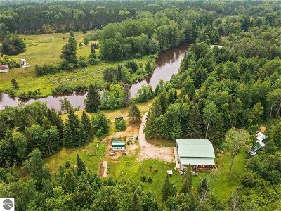 Kalkaska County Single Family Home For Sale: 321 Boat Ramp Road