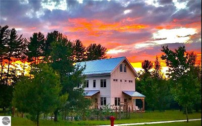 Leelanau County Single Family Home For Sale: 11970 S Ontario #51 & 52