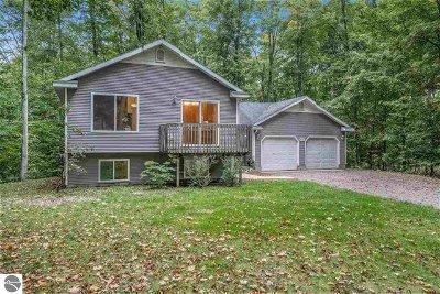 Leelanau County Single Family Home For Sale: 8099 E Woodside Court