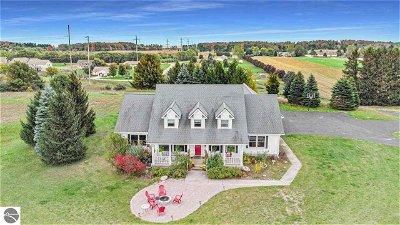 Traverse City Single Family Home For Sale: 7868 E Longbranch Circle
