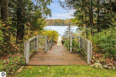 Antrim County Single Family Home Active U/C Taking Backups: 5290 Six Mile Lake Road