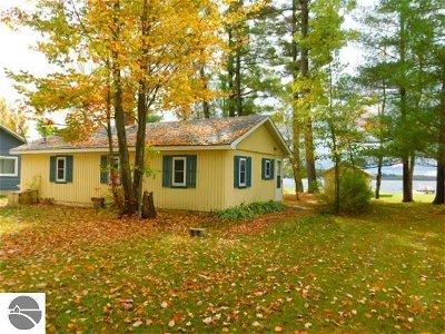 Kalkaska County Single Family Home New: 4762 N Shore Drive