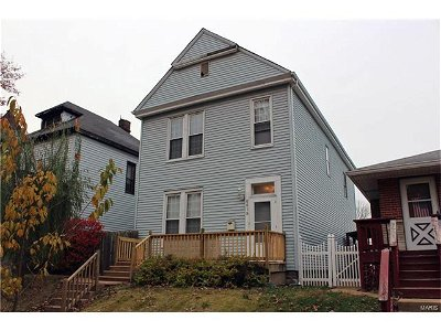 St Louis MO Single Family Home Sold: $92,500
