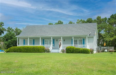 Beaufort NC Single Family Home Pending With Showings: $345,000