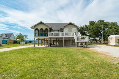 Harkers Island NC Single Family Home Pending With Showings: $360,000
