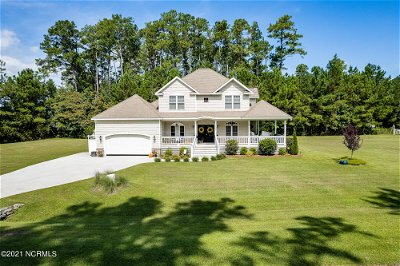 Beaufort NC Single Family Home Pending With Showings: $639,000