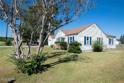 Bettie NC Single Family Home Pending With Showings: $169,000